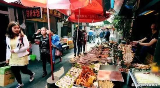 国内十条顶级美食街