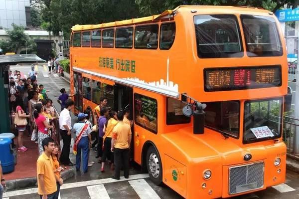 搭上双层巴士,两蚊鸡游广州!