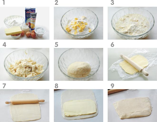超详细蛋挞制作(含挞皮做法)