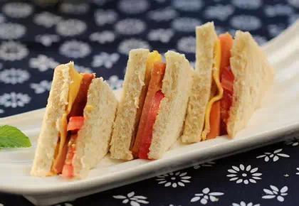 早餐就这么简单 五种三明治的做法